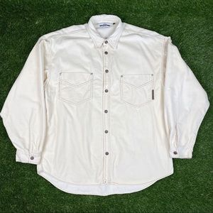 Vintage Quiksilver LS Shirt Made In USA Oversized